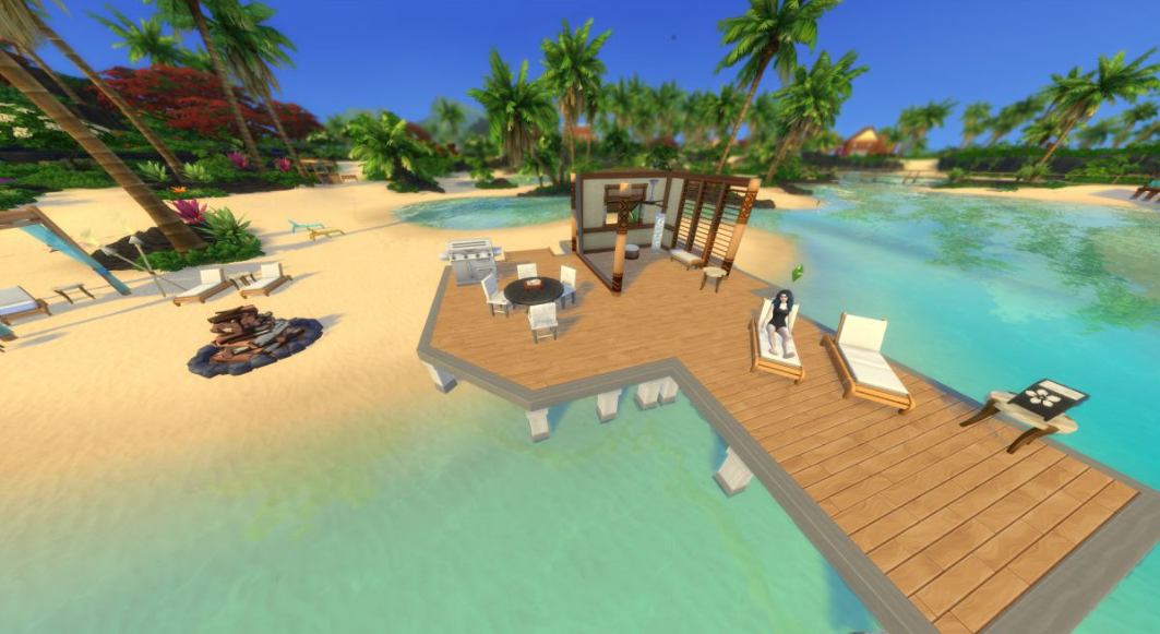 sims 4 island living cheap