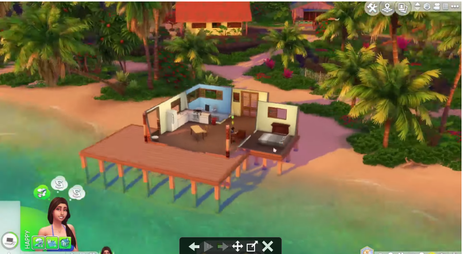 sims 4 island living sale