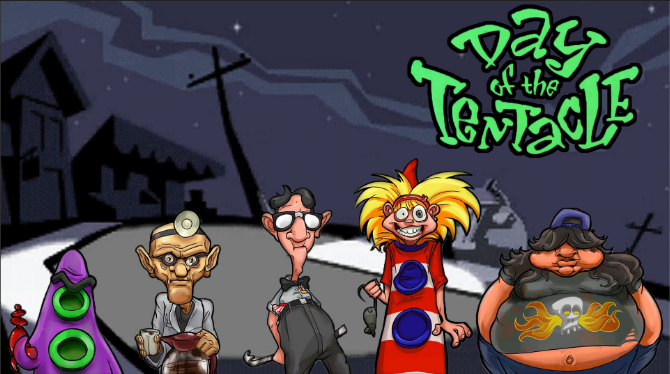 Day Of The Tentacle Download pc game