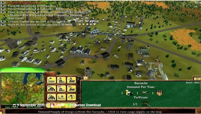 Railroad Tycoon 3 Download pc game
