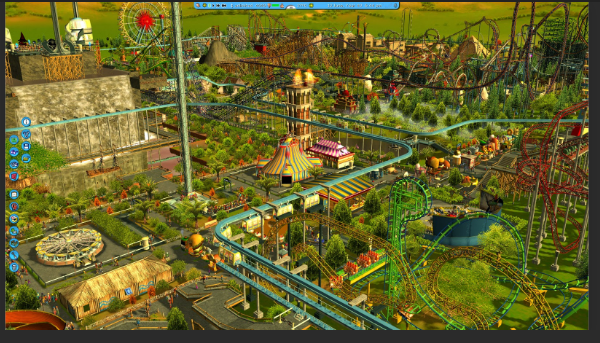 roller coaster tycoon free download full version pc game