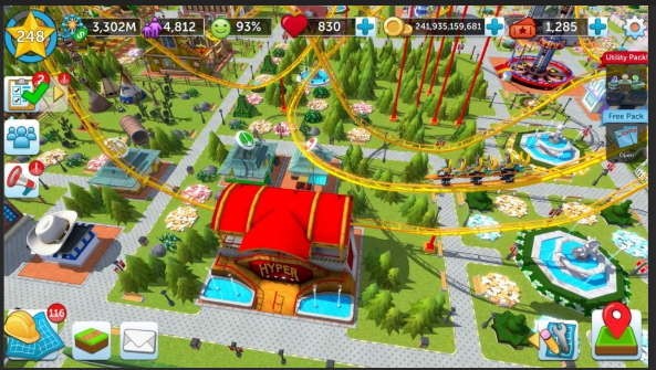 roller coaster tycoon free download full version game