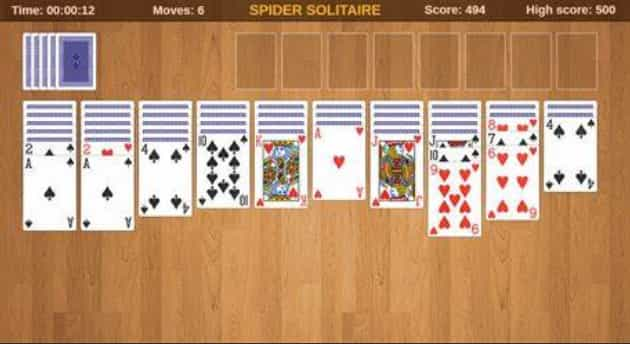 Spider Solitaire Card Game Free Download